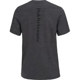 Peak Performance M's Track Tee Dark Grey Melange